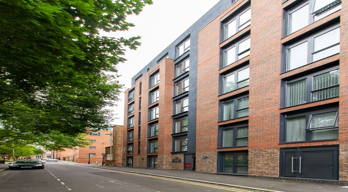 dover street apartments in leicester