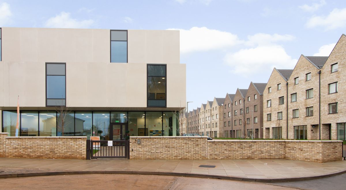 outside space Westwood Student Mews Warwick Student accommodation