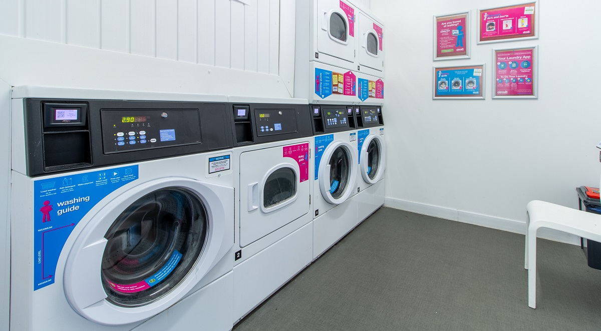 laundry room in the union leamington spa
