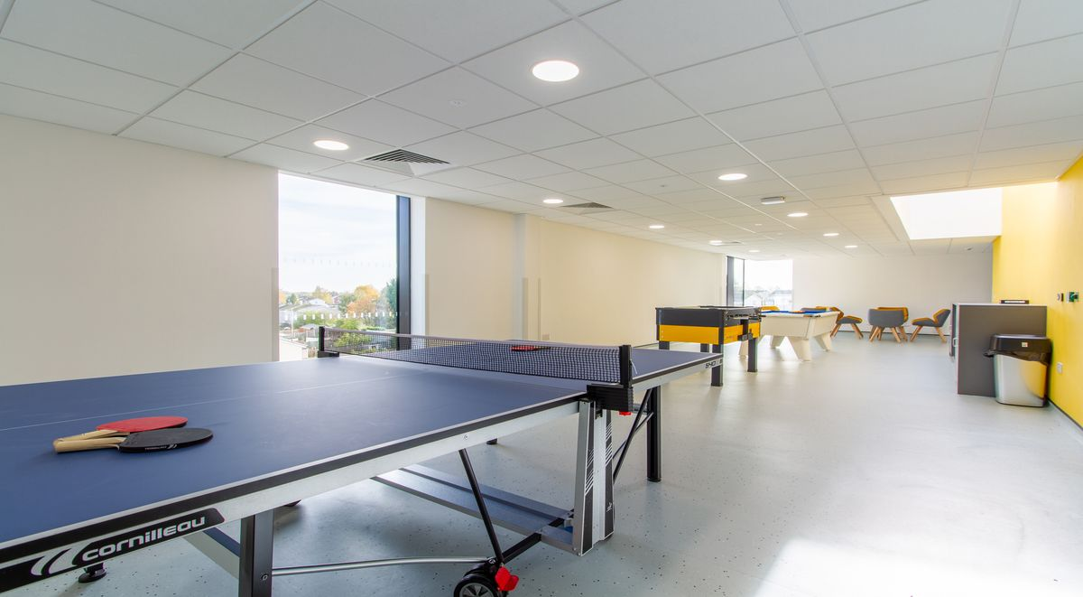 table tennis Westwood Student Mews Warwick Student accommodation