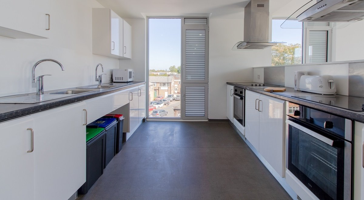 shared kitchen facilities in the union leamington spa