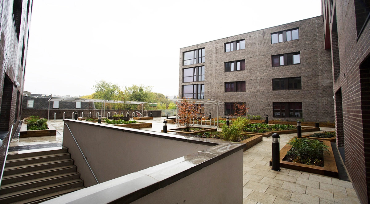 student accommodation Aberdeen - powis place outside view