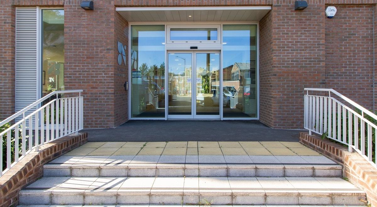 the union leamington spa entrance