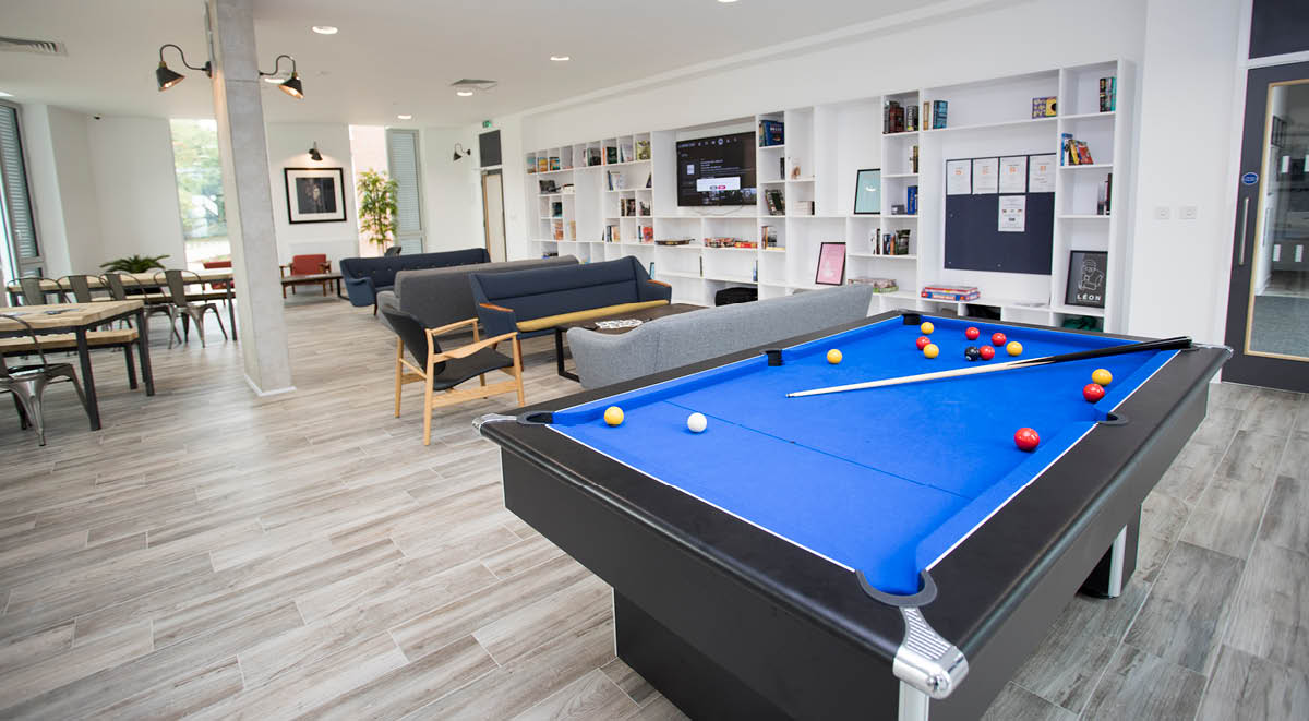 common room in the union, leamington spa