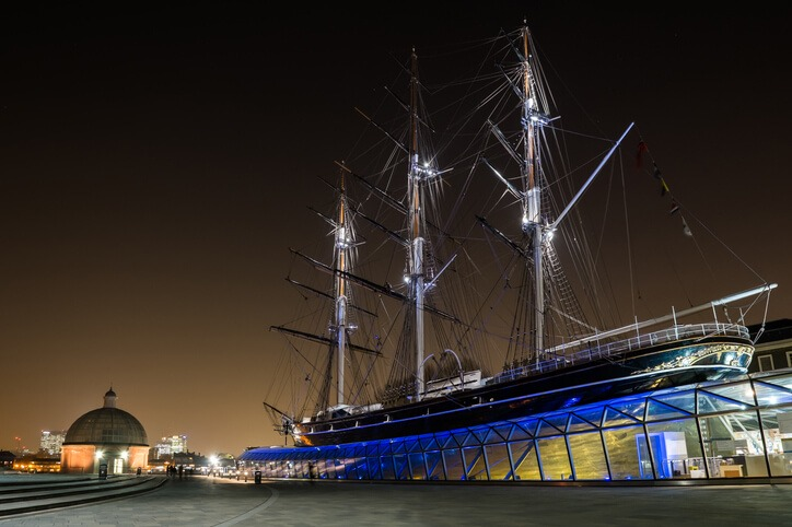 Cutty Sark in London