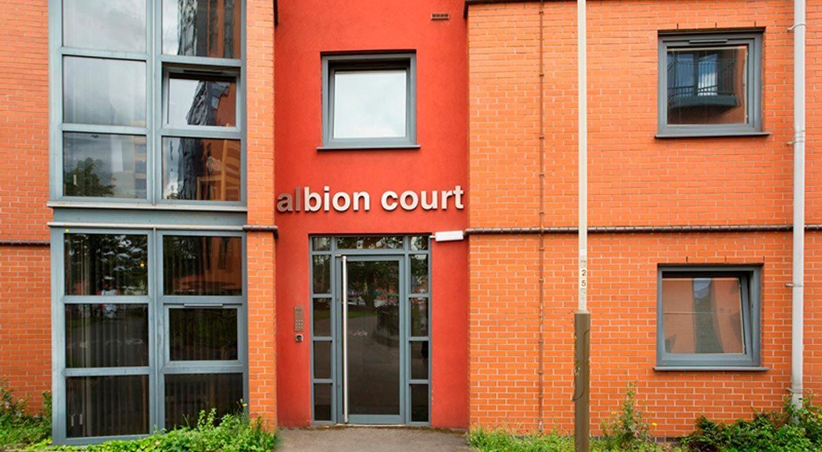 albion court exterior