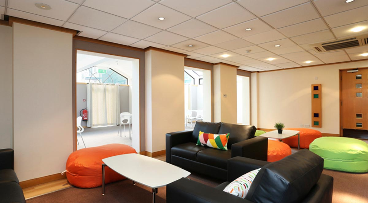 communal area in alexandra house high wycomve