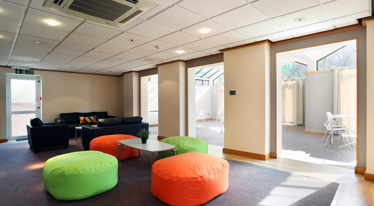 common room in alexandra house