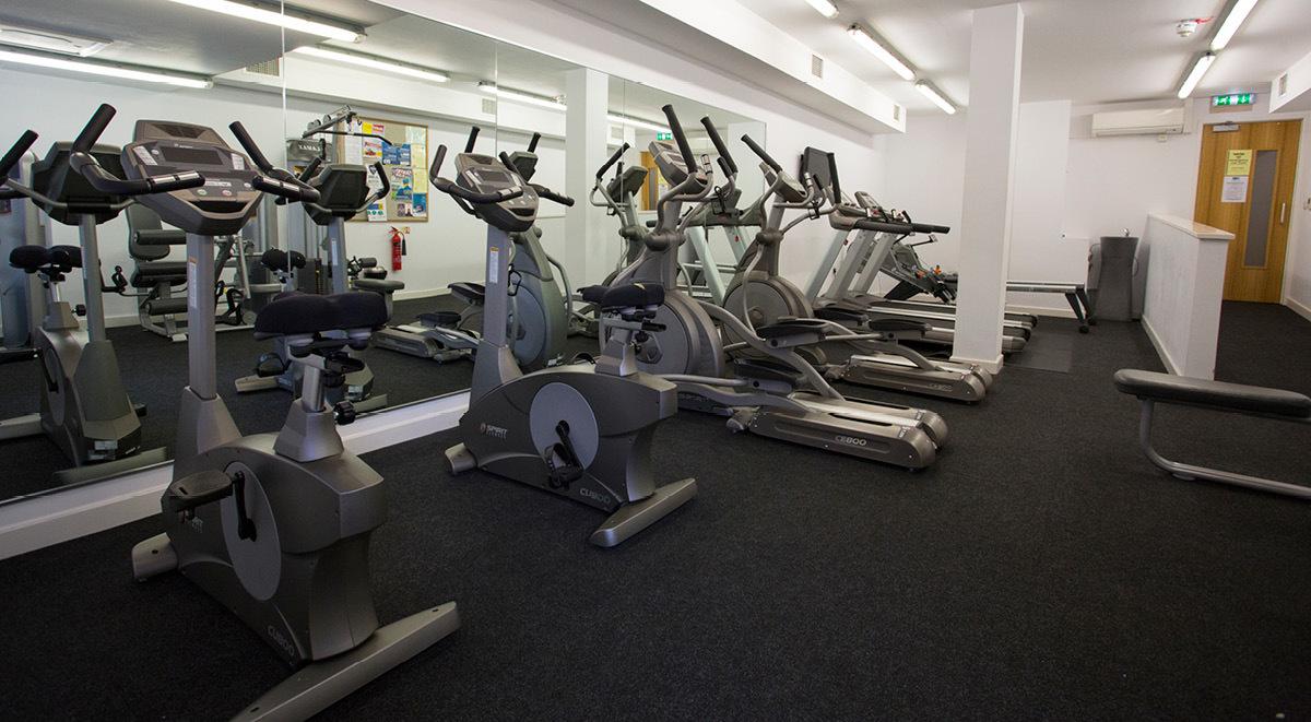 gym Brayford Quay Lincoln Student Accommodation