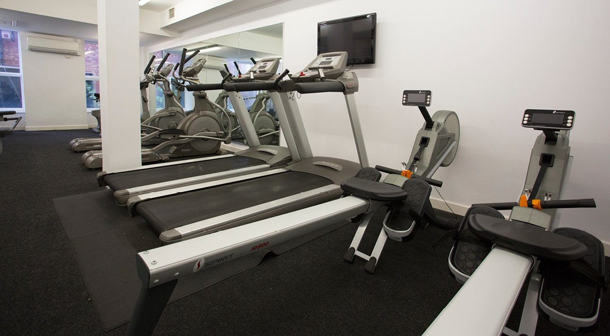 gym space Brayford Quay Lincoln Student Accommodation