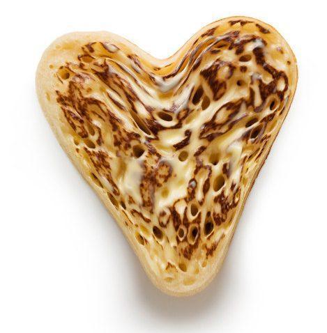 Asda Heart Shaped Crumpets