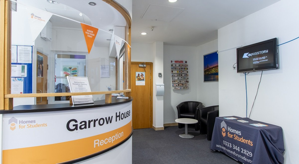 garrow house reception