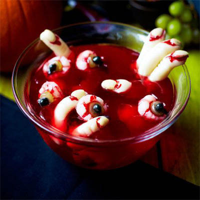 Halloween Party food spooky jelly