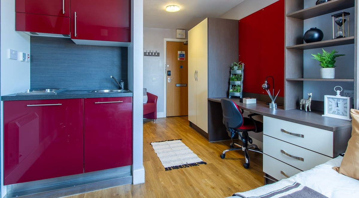 studio space Camden Hawley Crescent London Student Accommodation