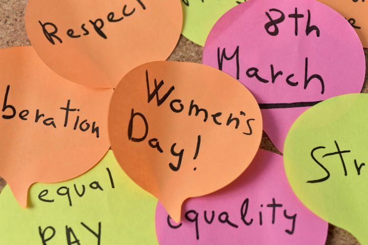 International Women's Day in held annually on March 8th