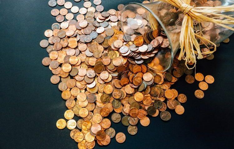 image of pennies