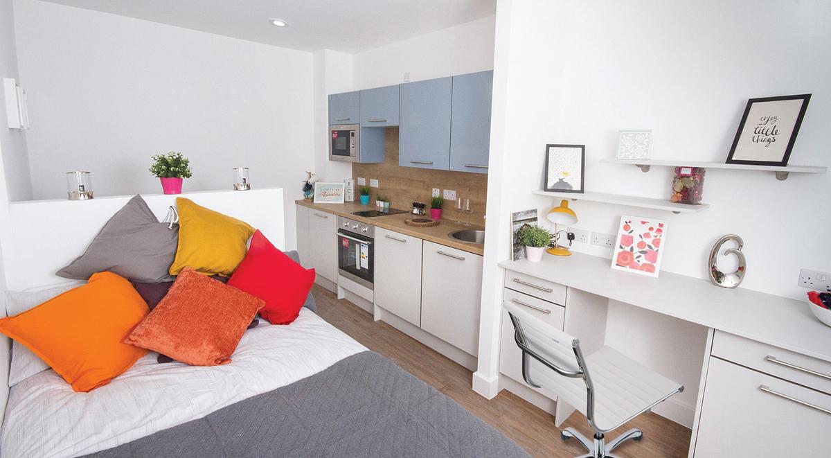 bedroom quarters Orbital Nottingham Student Accommodation