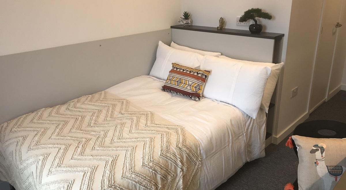 en suite room in pablo fanque house