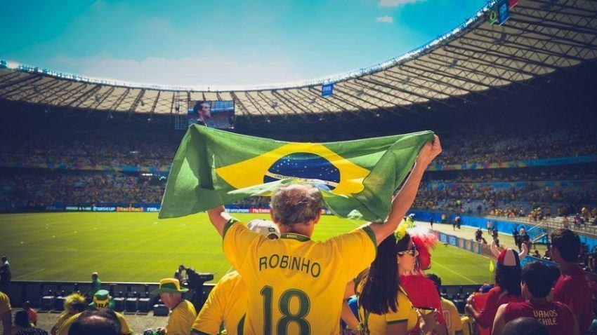 Image of Brazil fan