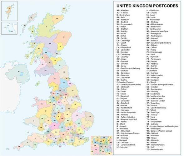 UK Post Codes