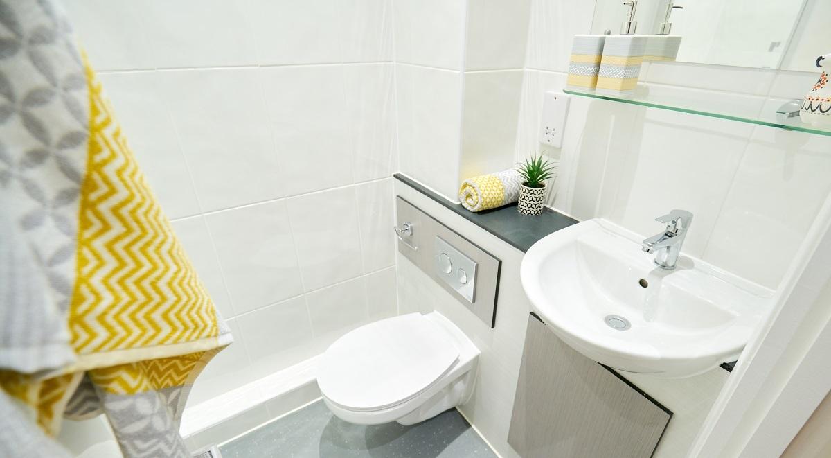bathroom in st leonards house