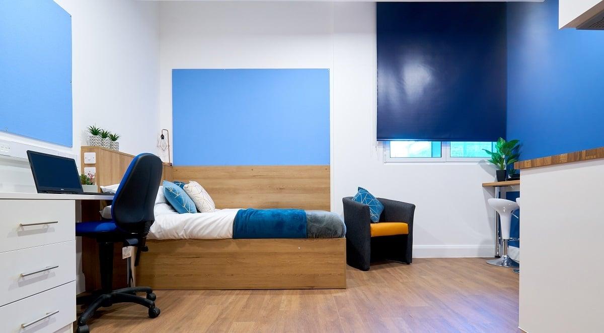 sleeping room St Leonard's House Lancaster Student Accommodation