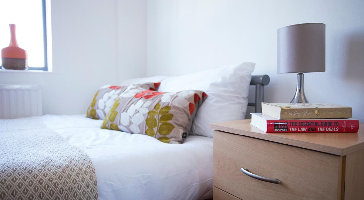 bedroom surrey quays landale house london student accommodation