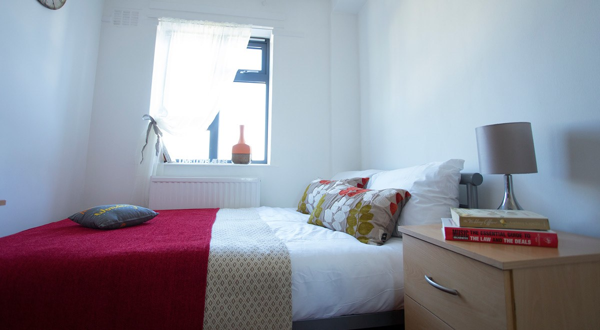 private bedroom surrey quays landale house london student accommodation