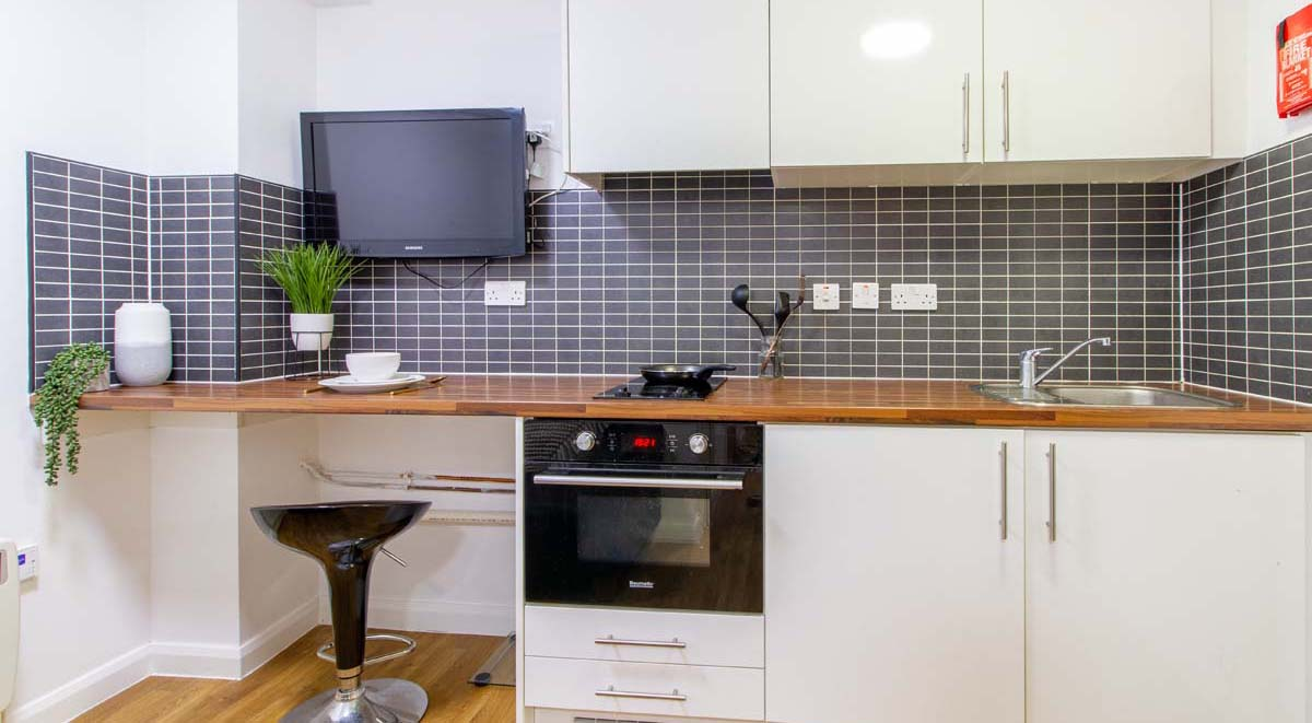 shared kitchen 2 bed non ensuite the glasshouse