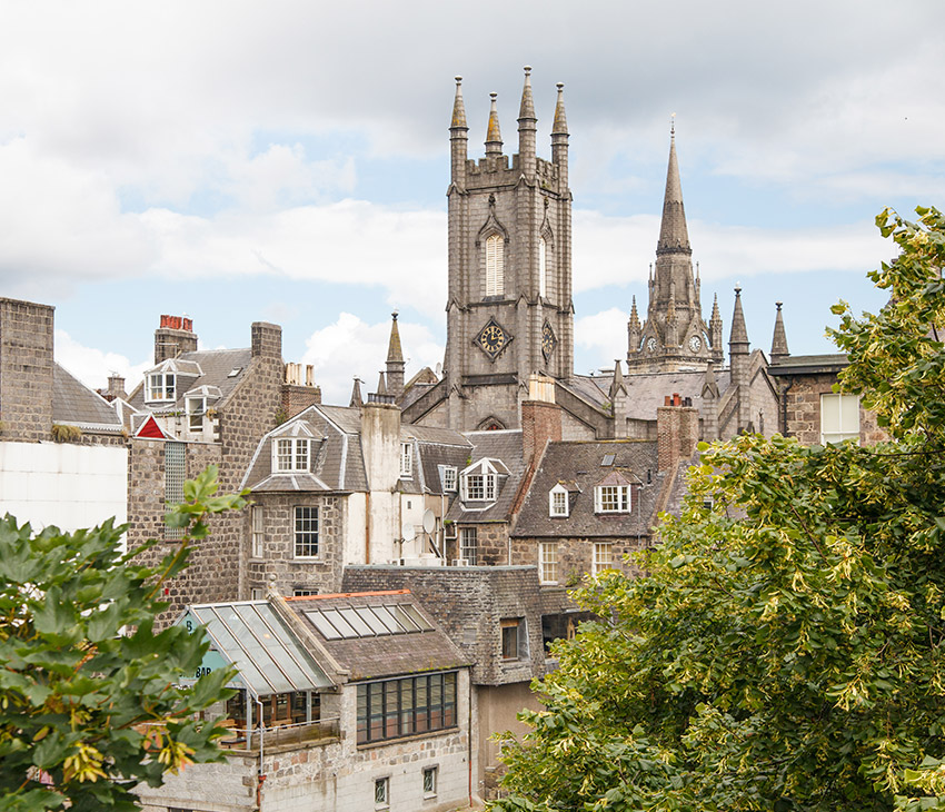 Student accommodation in Aberdeen
