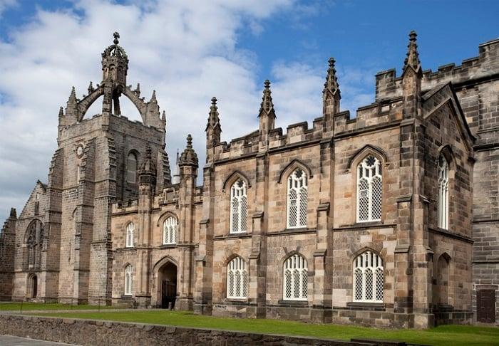 University of Aberdeen outside view