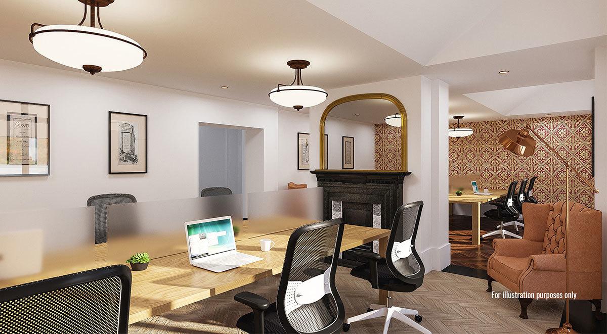 private study area in calcott ten