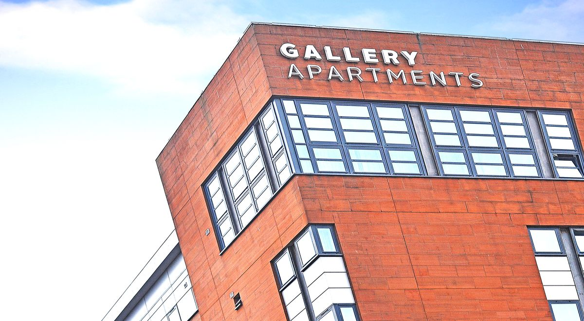 gallery apartments exterior glasgow
