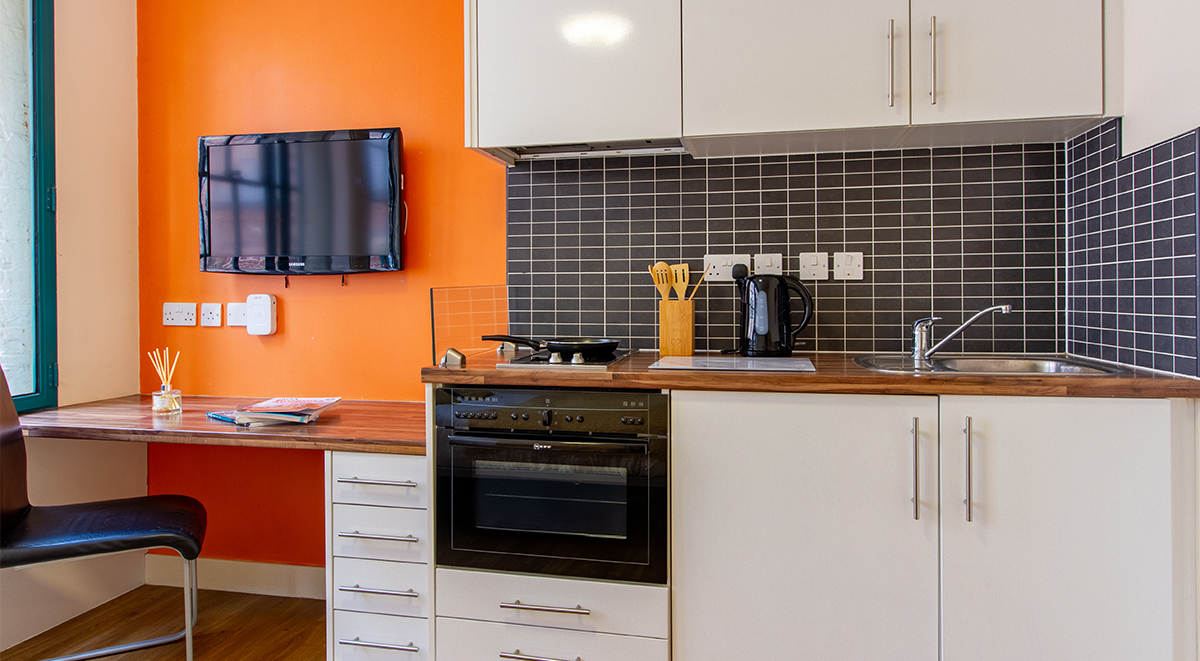 nottingham square student kitchenette