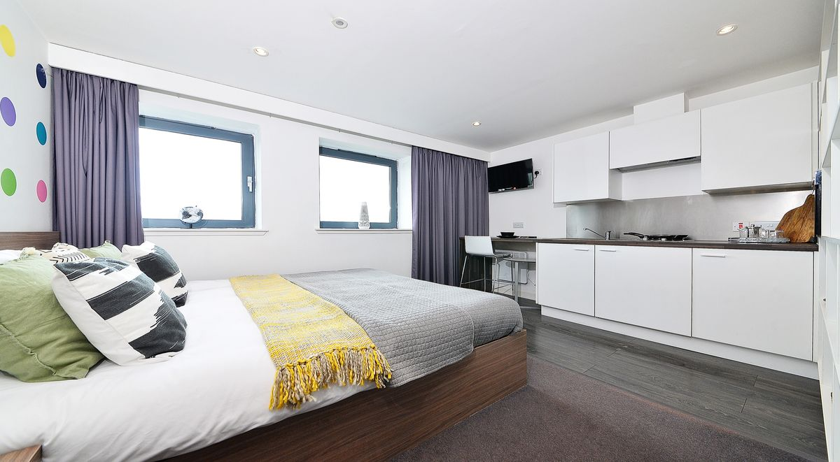 bedroom Gallery Apartments Glasgow student accommodation
