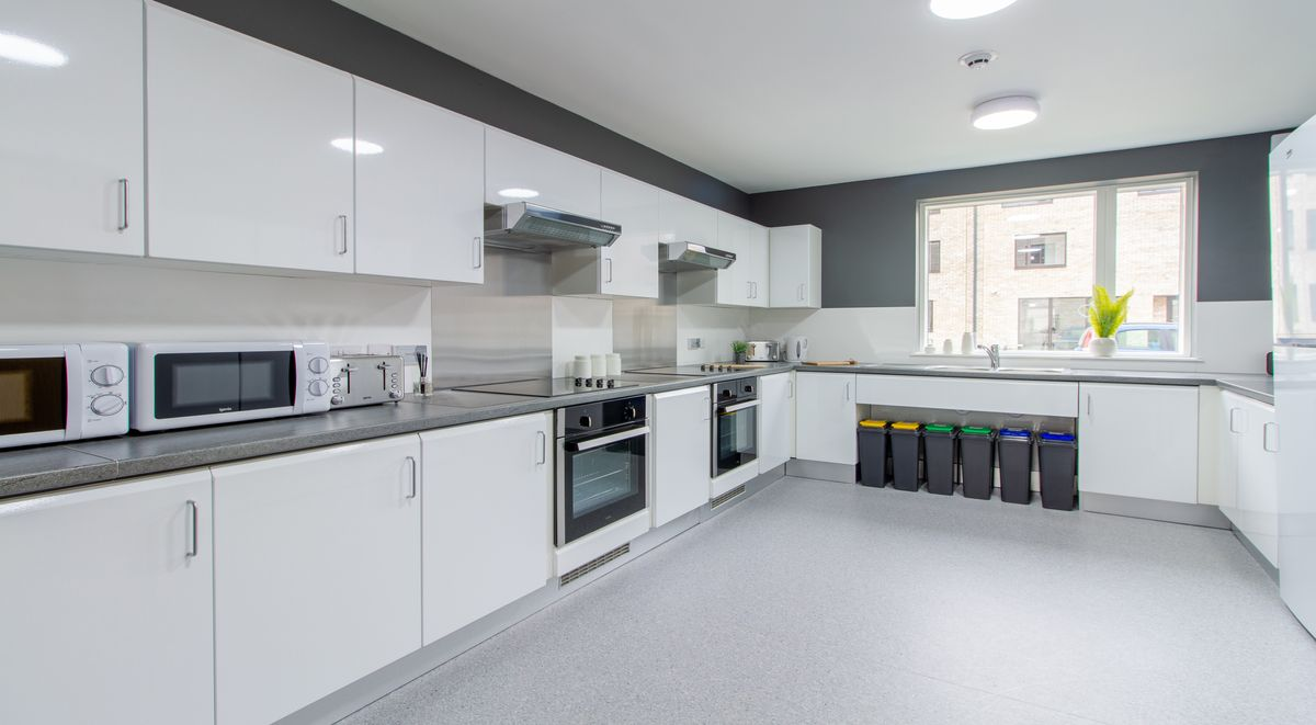 shared kitchen in westwood student mews