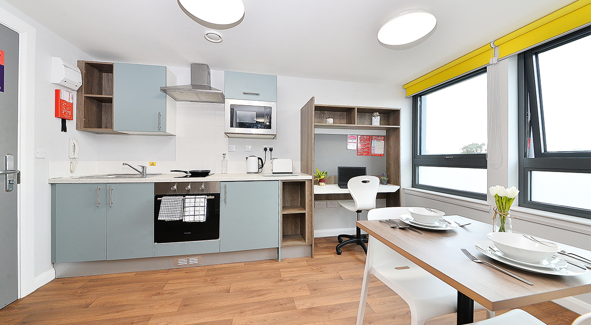 silver studio in the mill house student accommodation