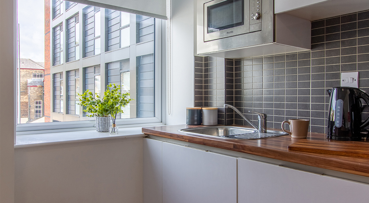 kitchen Danesgate House Lincoln Student Accommodation