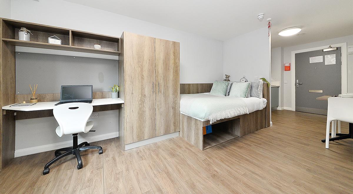 The Mill House Edinburgh Student Accommodation platinum studio