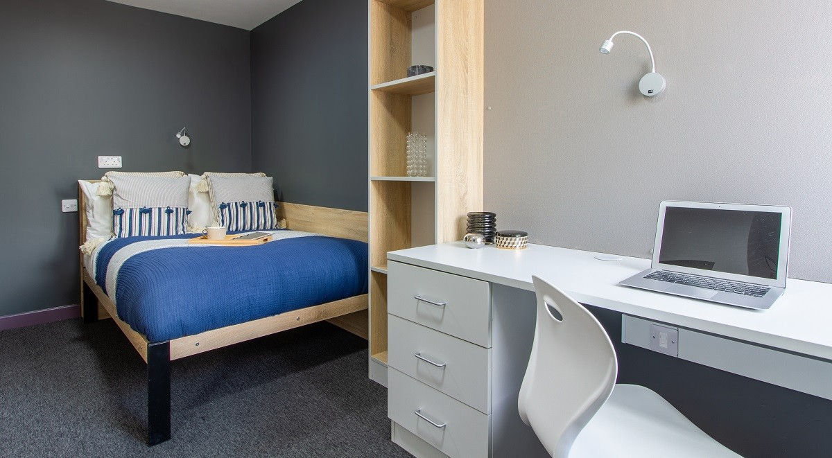 ensuit student room at westwood student mews