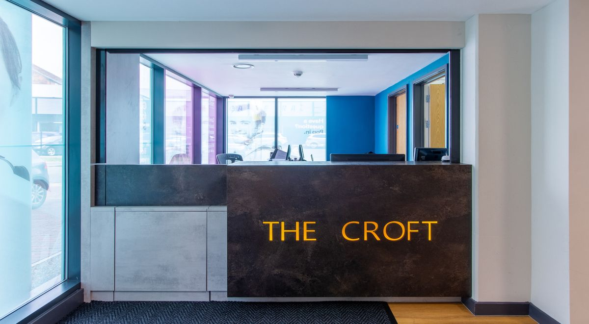 front desk The Croft Derby Student Accommodation