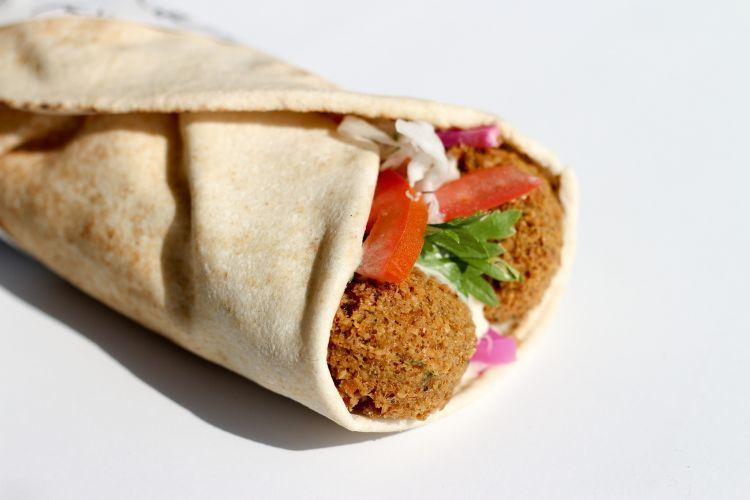 Falafel for Lunch in Norwich
