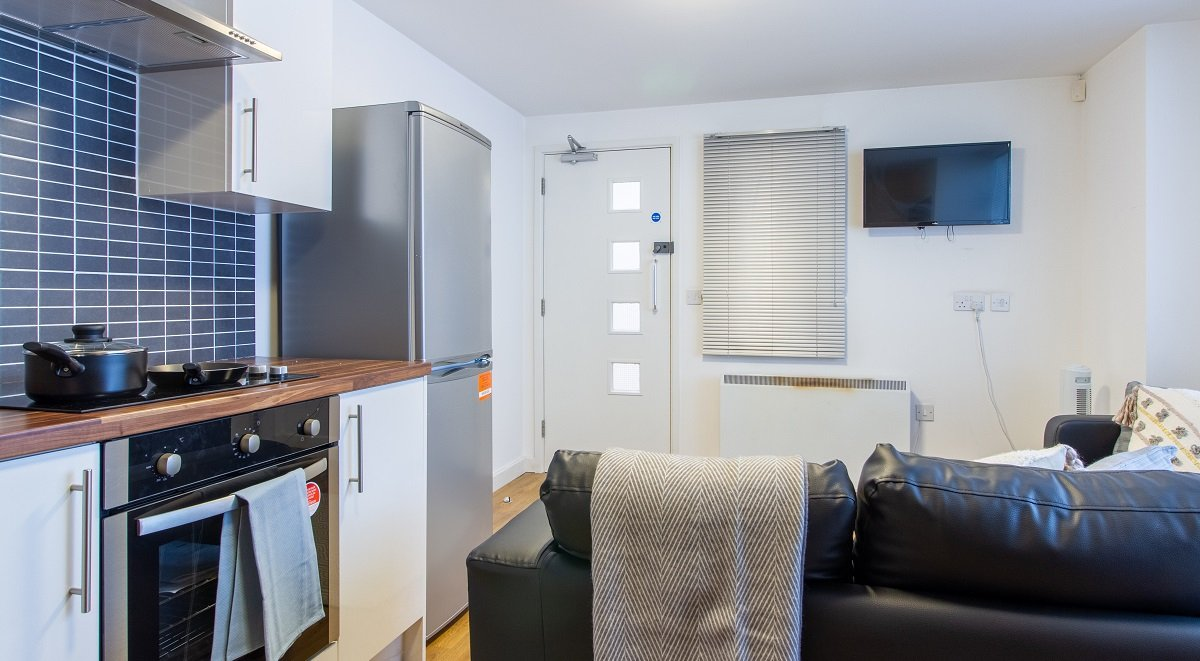 shared kitchen facilities in Canalside in Birmingham
