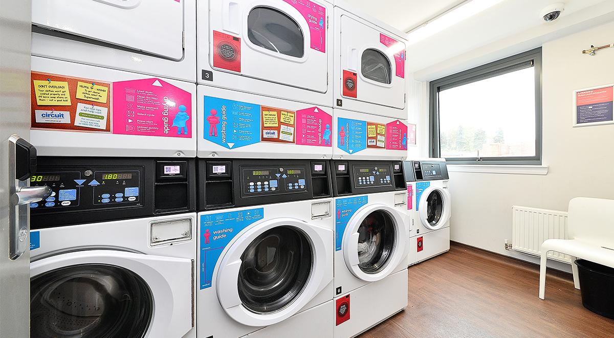 laundry room in the mill house edinburgh