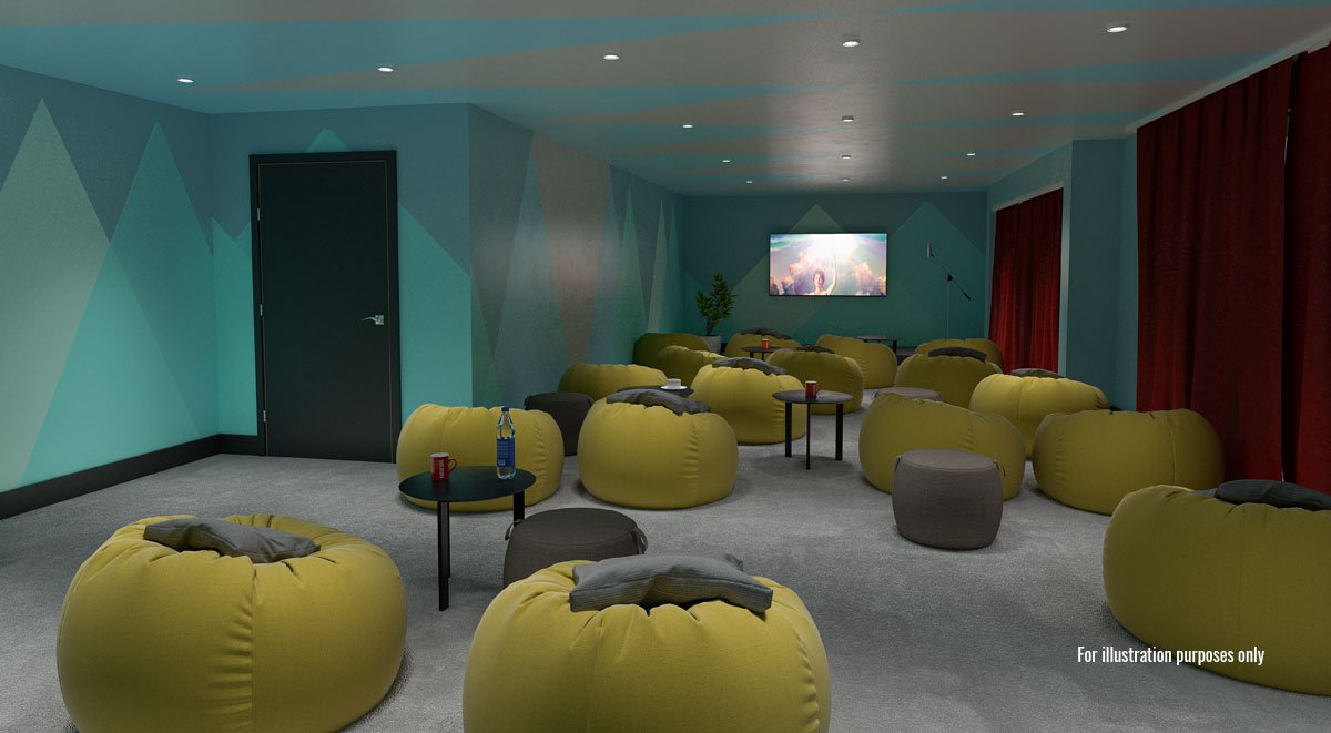 cinema in aspen student accommodation dublin