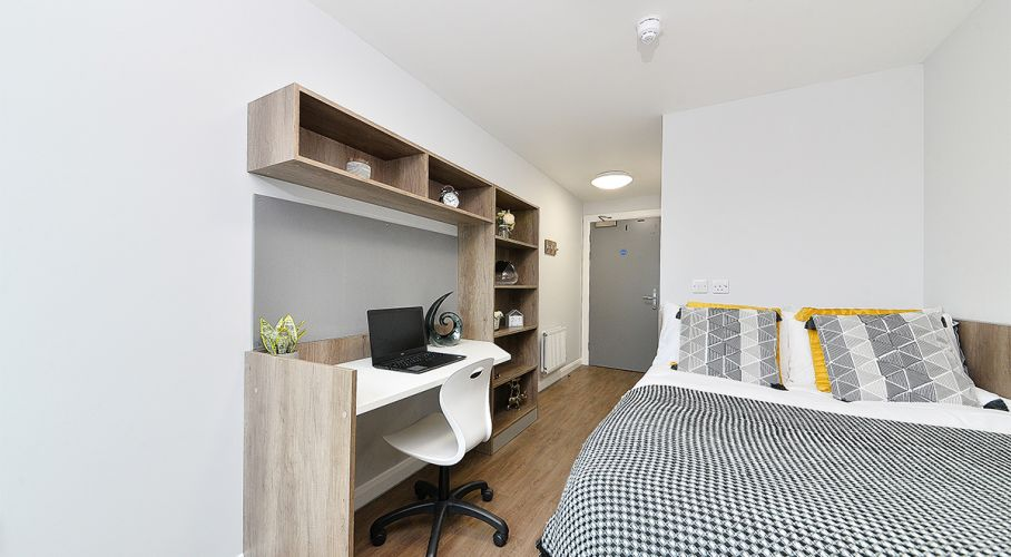 Student bedroom decoration in Edinburgh