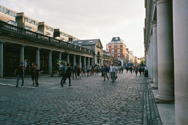 Vintage shopping in Covent Garden