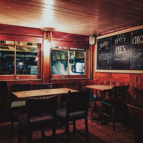 Visiting a local London pub