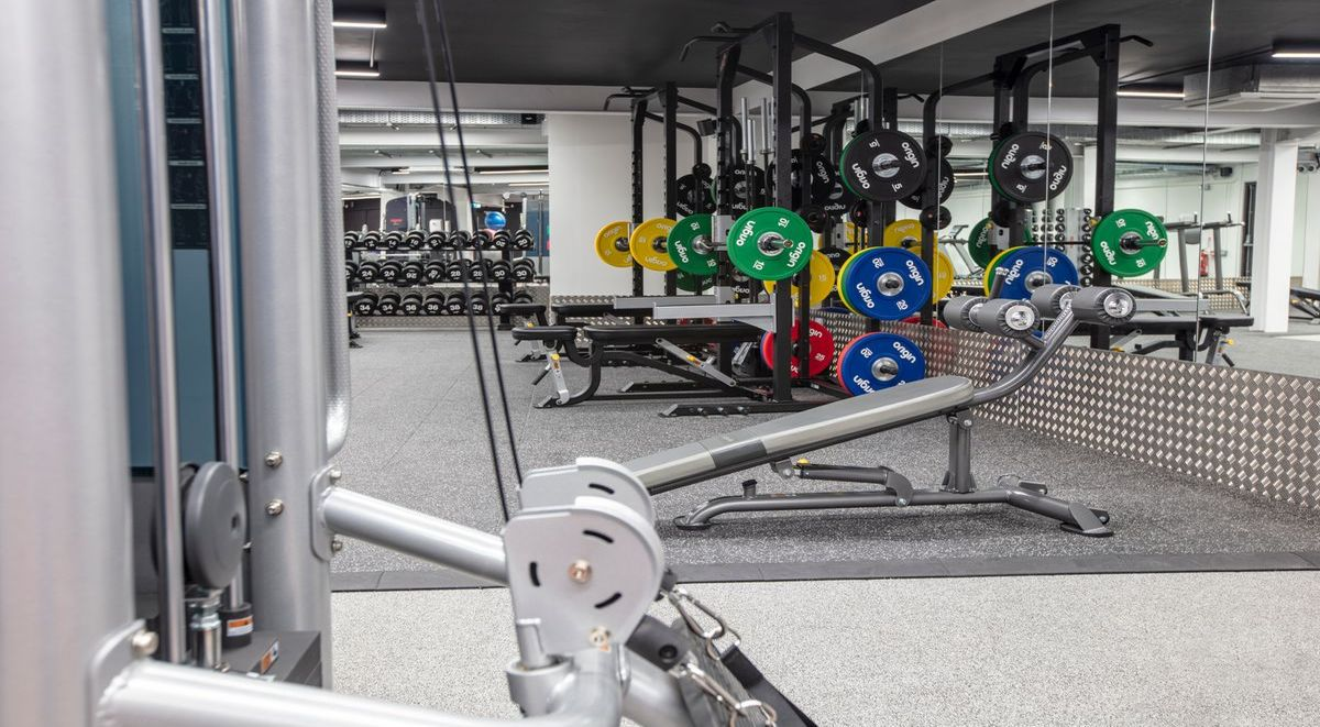 gym in powis place aberdeen