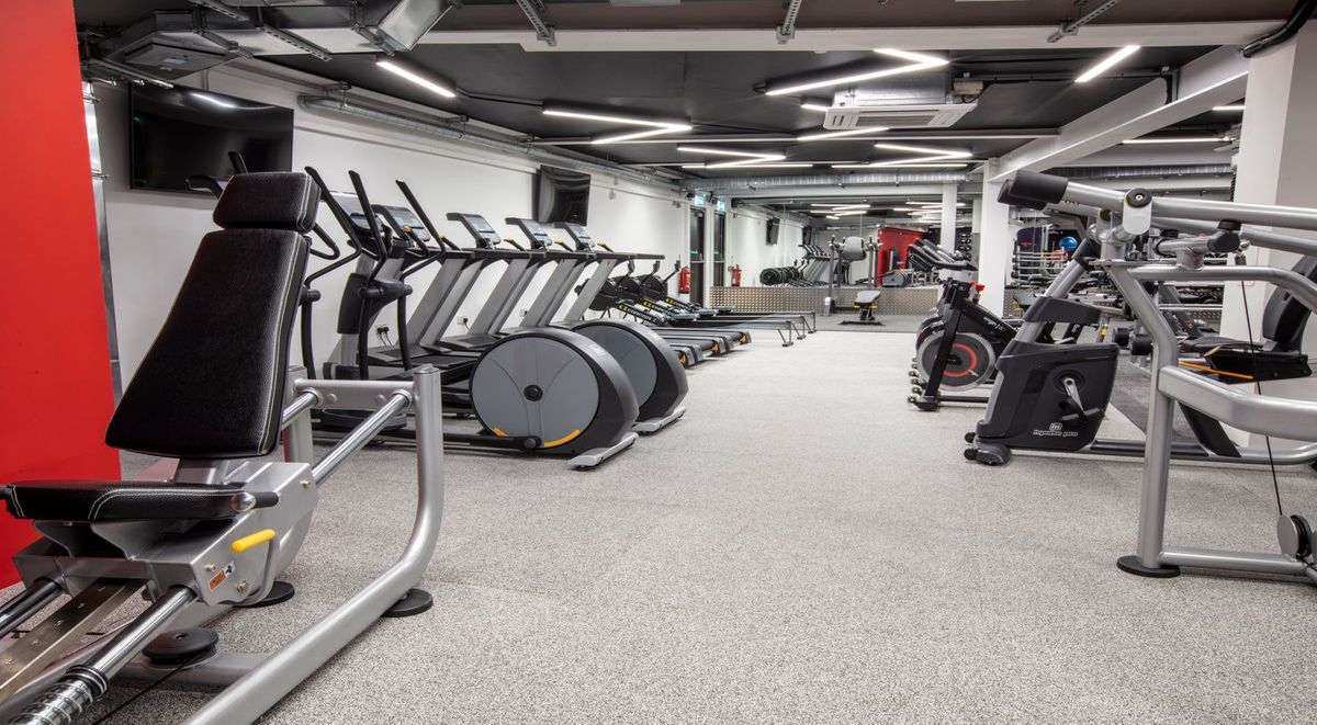 on site gym in powis place student accommodation aberdeen